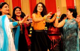 Kangana Ranaut Visits Her School In Chandigarh