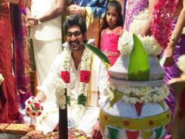 Actor Rana Daggubati, who is making smart choices with equal popularity in Tollywood, Kollywood and Bollywood is thrilled about his first marriage.
