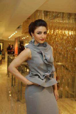 Soha Ali Khan at Spirit of the Zoya Woman Photo Exhibition