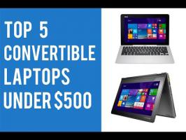 We present you a on Top 5 Best 2-in-1 Convertible Laptops Under $500 2015. Best cheap convertible tablet laptop. Dell Inspiron i3147-3750sLV HP Pavilion ...