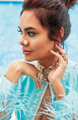 Esha Gupta features on the cover of Femina Wedding Times' April issue