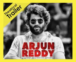 After teaser gets ultimate response Arjun Reddy makers released theatrical trailer at event few minutes back. Trailer launched by Natural star Nani and praises team for making these natural kind of film. Movie staring Vijay Deverakonda and Shalini shown as medicos in trailer. Movie directed by Sandeep Vanga and produced by ranay Reddy under Bhadrakali Pictures. Movie all set to release on 25th of August.