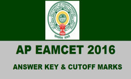 AP EAMCET 2016 Answer Key : The Andhra Pradesh EAMCET 2016 has been successfully conducted by Jawaharlal Nehru Technological University Kakinada (JNTU-K) on behalf of APSCHE on 29th April 2016.