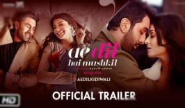 Ae Dil Hai Mushkil Trailer complicated relationship shared by Ranbir Kapoor, Anushka Sharma, Aishwarya Rai and Fawad Khan in the film.watch Ae Dil Hai Mushkil Trailer