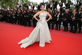 Bollywood actress Aishwarya Rai Bachchan walk on red carpet at Cannes film festival 2018 with her daughter Aaradhya. Along with Aishwarya actress like Priyanka Chopra, Deepika Padukone, Kangana Ranaut, Sonam Kapoor and other Bollywood celebrities attend this grand event.  Check Aishwarya Photos at Cannes.