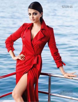 Aishwarya Rai poses for Vogue, Bollywood Actress, Hindi, Photo Shoot, Magazine, 2015