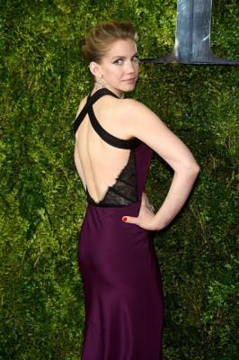 Anna Chlumsky 2015 Tony Awards in New York City