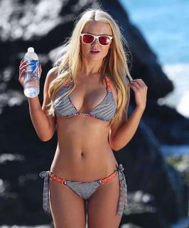 Anna Sophia Berglund – 138 Water Bikini Photoshoot in Malibu