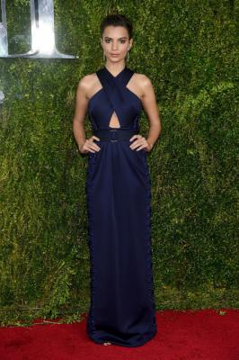Emily Ratajkowski 2015 Tony Awards in New York City| Hollywood News Update