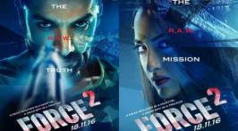 Bollywood Latest Film Force 2 Movie Posters John Abraham,Sonakshi and Genelia D'Souza in the main lead role