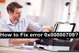 "You may have encountered a lot of issues with printers, but one of the most common and annoying issues is ""error 0x00000709,"" this is where your printer refuses to get configured or set up on your PC.  This error usually occurs when there is already a default printer configured or set, or your Windows does…"