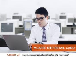 McAfee mtp retail card includes a 25-digit product key required for activating McAfee products that are available at the official website of this worldwide popular cybersecurity brand. It delivers an advanced level protection to the Windows, Mac, Android, and iOS devices. With it, you can be sure of the safety of your data, privacy of your computer network, and protection of your software and applications. You can download McAfee products from mcafee.com/activate.