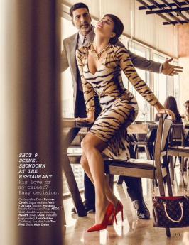 Jacqueline Fernandez poses for Vogue July Magazine Pics, Vogue July Magazine 2015, Jacqueline Fernandez, Hindi, Bollywood