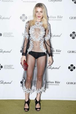 Jessica Stam – Leonardo DiCaprio's Charity Gala in St. Tropez