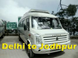 book best tempo traveller hire Jodhpur at reasonable price, online book tempo traveller 9 seater 12 seater 15 seater budget packages from delhi to jodhpur visit at tempotravller.com