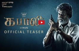 Kabali Tamil Movie Official Teaser Rajinikanth ,Radhika Apte   Kabali Tamil Teaser Review : Kabali movie also features Radhika Apte, Nassar, Winston Chow, Roshan, Dinesh Ravi, Dhansika, Kalaiyarasan, John Vijay, Kishore, Riythvika, among others.