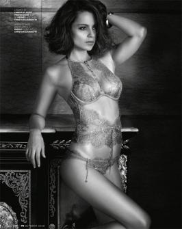 Check out the making video of Kangana  Ranaut's GQ magazine photoshoot.  - Kangana Ranaut will make you fall in love with the Renaissance era, courtesy this photoshoot - watch video