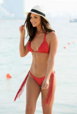 Lucy Mecklenburgh – Bikini Photoshoot in Dubai