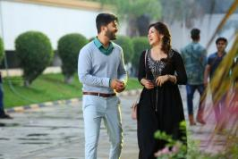 Hero & Heroine of the movie Mahanubhavudu  telugu movie is Sharwanandh & Mehreen .Director of the movie Mahanubhavudu is  Maruthi. Mahanubhavudu is done under U V Creations banner.Shooting had been completed and the movie Mahanubhavudu is completing its post production quickly. In this week Mahanubhavudu telugu movie songs will be released one by one . Thearitical trailer  will be released as soon as possible . After finishing all the work of the movie Mahanubhavudu will be released on vijay dasami .on this occasion producers said that Mahanubhavudu movie is the third movie under uv creations where Maruthi as a director it is the second film.Mahanubhavudu movie is going to give a hit to sharwanandh is what we expect.