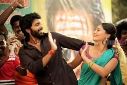 Pakka upcoming tamil movie starring Vikram Prabhu, Nikki Galrani, Bindhu Madhavi. Directed by debutant S S Surya. Music by C Sathya