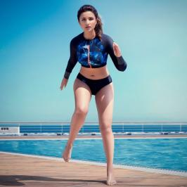 Bollywood young heroine Parineeti Chopra shows her bikini body in latest hot Photo Shoot For Speedo Swimwear. Speedo India officially announced the same yesterday before Parineeti photo shoot out.