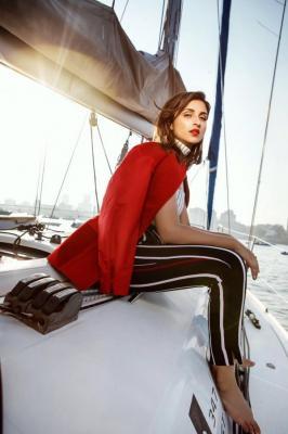 Check out Parineeti Chopa's hot sailorwoman avatar for a latest magazine photoshoot.  - Parineeti Chopra turns sailor for Cosmopolitan and we can't keep CALM - view pics