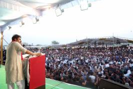 Pawankalyan at Cheneta Garjana