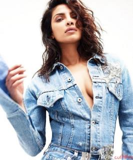 Priyanka Chopra has become popular in hollywood circle after role in Quantico tv serial. She is now acting baywatch along side rock, She recently featured in Canadian magazine Flare