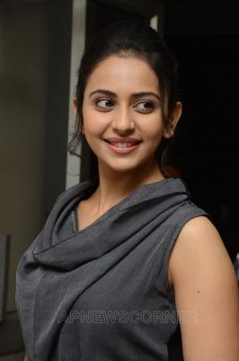 Rakul Preet Singh Pics From Khakee Movie Press Meet