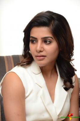 Samantha Ruth Prabhu Photos at 24 Movie Interview Function