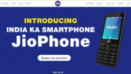 In this post, I will provide you a step-by-step guide to book jio phone. Step 1: On 14th August jio's official website, you gonna see a banner of Jio..