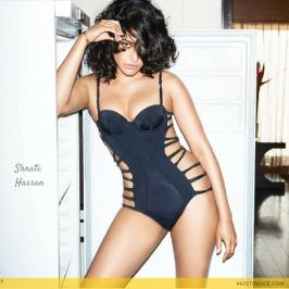 Let's have a close glance on Shruti Hassan's top sexy and hot bikini photo shoot for GQ India Magazine. Shruti Hassan is a popular Indian film actress and model