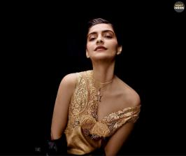 Sonam Kapoor Stylish Photoshoot for Elle India Magazine 2016