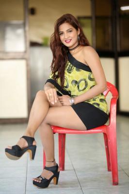 Actress Sravani Nikki Hot Stills at Life Anubhavinchu Raja Success Meet stills on Tamilxp.com