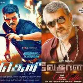 Thala fans troll Theri - The social media war between the fans of 'thala' and 'thalapathi' intensified on Wednesday, as the title ('Theri') and first look of Vijay's 59th movie were trolled in a never before way.