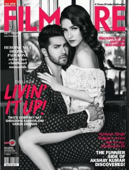Varun Dhawan and Shraddha Kapoor Heat It Up in Filmfare Magazine July 2015.Varun Dhawan and Shraddha Kapoor are the two actors who are now eagerly waiting for
