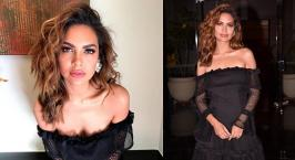 Esha Gupta at Miss Diva Contest 2017: Esha Gupta at Miss Diva Contest 2017 in Mumbai. Esha smoldered in an off-shoulder Mossman mini. Wearing the dress with
