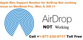 If Apple Mac airdrop is not working on your Mac computer you can call us 1877-232-0717 now and get quick online assistance by our team of certified technicians. We have highly skilled computer experts who can remotely diagnosis your Mac computer and know why AirDrop is not working properly on your any of the Mac computer either it is MacBook, Pro or iMac running on iOS 10 or iOS 11.  The right troubleshooting process is carried out over here to identify the possible causes affecting the AirDrop application. Once the problem is detected why AirDrop not working it will fixed quickly with assured solution. We make sure your identity will not loose and your device will safe during our online troubleshooting process.           Get in touch with us for any technical assistance!! Toll-free Number of Customer Support:  1-877-232-0717 You can follow us on:   Follow us on Twitter: https://twitter.com/CallAppleSuppor Like us on Facebook: https://www.facebook.com/applesupportphonenumber/ Follow us on Google+ : https://plus.google.com/u/0/+MacTechnicalSupportAppleSupportPhoneNumber Connect with us on Pinterest : https://www.pinterest.com/mac_tech_help/ Subscribe our channel: https://www.youtube.com/channel/UCaz3uFDttY0YeU9kUVe31gQ Support Hrs: 24*7 (Mon-Sun) Email :- support@mactechnicalsupportphonenumber.com