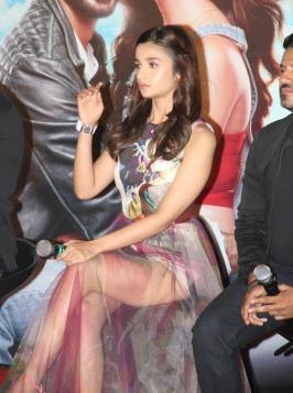 Shaandaar Trailer Launch, Alia Bhatt, Shahid Kapoor, Karan Johar, Bollywood, Hindi Film, Shanndar Trailer Launch
