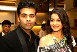 Alia Bhatt is taking big leaps in Bollywood, as her mentor Karan Johar ensures guiding her during her endeavours.In fact, Alia's bonding is such with Karan J...