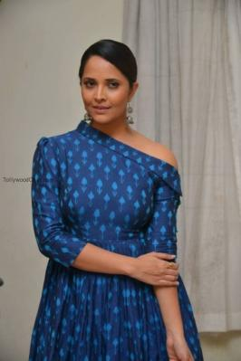 Anchor Anasuya Ordinary Hush At Jai Lava Kusa Trailer