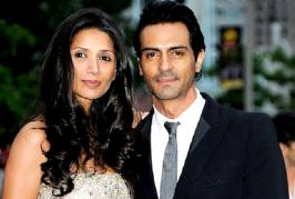 Arjun Rampal has been held to a continuous trial over rumours of a rocky relationship with his wife Mehr Jesia. But the actor says he prefers not to react, r...