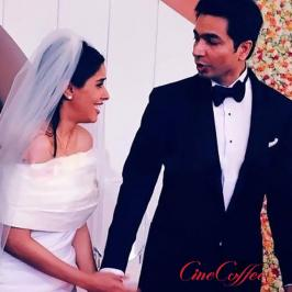 It was a blend of two worlds as Asin got married to Micromax co-founder Rahul Sharma on Tuesday in a Christian wedding ceremony followed by Hindu rituals near N