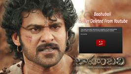 bahubali trailer, baahubali trailer, baahubali trailer deleted, bahubali trailer deleted, Baahubali Telugu Trailer Deleted From Youtube, Shocking Baahubali Telugu Trailer Deleted From Youtube, Bahubali trailer deleted from youtube. Bahubali telugu trailer which crossed 1 million views on youtube deleted by youtube stating a reason of spam and scam,Baahubali Telugu Trailer Deleted From Youtube | Rajamouli | Prabhas