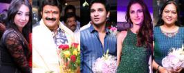 Celebrities at Mirrors Salon Launch Photos At Gachibowli, Balakrishna, Raj Tarun, Ali, Jhansi, Suresh Babu, Sanjana, Hema, 2015, Event Pics, Images, Stills