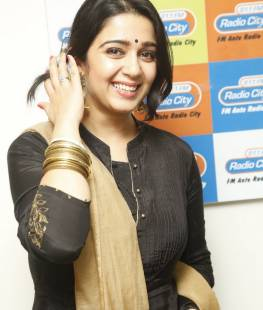 Charmi at Radio City, Charmme Kaur, Actress, Telugu, Radio Station, Event, Pics, hyderabad