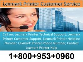 Get Lexmark technical support if Lexmark printer not printing, Lexmark Scanner Software issues or Lexmark printer errors. Just call on Lexmark printer toll free number 1-800-953-0960 and get instant solution.