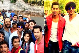 Varun Dhawan who recently reached Bulgaria to take part in shooting of Shah Rukh Khan and Kajol starrer 'Dilwale', will play role of King Khan's younger brot...