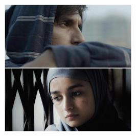 Bollywood filmmaker Zoya Akhtar dropped a subtle hint about Ranveer Singh and Alia Bhatt's character in Gully Boy First Look. In the picture, Alia Bhatt is clad in a Hijab while Ranveer Singh is looking just an ordinary guy from a small town.