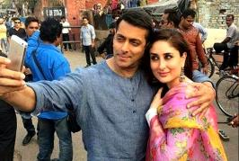 When asked about Kareena's absence, Salman said,